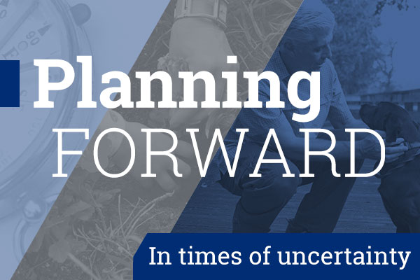 Planning Forward in Times of Uncertainty